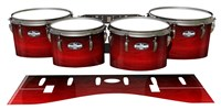 Pearl Championship CarbonCore Tenor Drum Slips - Active Red (Red)