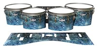 Pearl Championship CarbonCore Tenor Drum Slips - Aeriform (Blue)