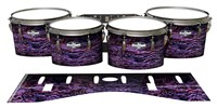 Pearl Championship CarbonCore Tenor Drum Slips - Alien Purple Grain (Purple)