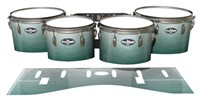 Pearl Championship CarbonCore Tenor Drum Slips - Alpine Fade (Green)