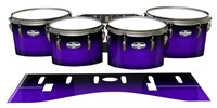 Pearl Championship CarbonCore Tenor Drum Slips - Amethyst Haze (Purple)