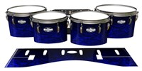 Pearl Championship CarbonCore Tenor Drum Slips - Andromeda Blue Rosewood (Blue)