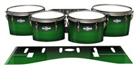 Pearl Championship CarbonCore Tenor Drum Slips - Asparagus Stain Fade (Green)
