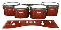 Pearl Championship CarbonCore Tenor Drum Slips - Autumn Fade (Orange)
