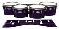 Pearl Championship CarbonCore Tenor Drum Slips - Black Cherry (Purple)