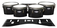Pearl Championship CarbonCore Tenor Drum Slips - Black Stain (Neutral)