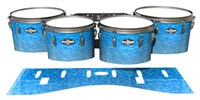 Pearl Championship CarbonCore Tenor Drum Slips - Blue Ice (Blue)