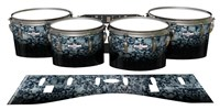 Pearl Championship CarbonCore Tenor Drum Slips - Blue Ridge Graphite (Neutral)
