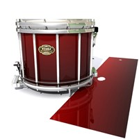 Tama Marching Snare Drum Slip - Apple Maple Fade (Red)