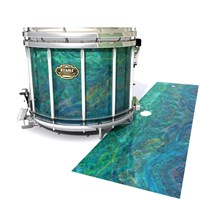 Tama Marching Snare Drum Slip - Aquamarine Blue Pearl (Aqua)