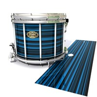 Tama Marching Snare Drum Slip - Blue Horizon Stripes (Blue)