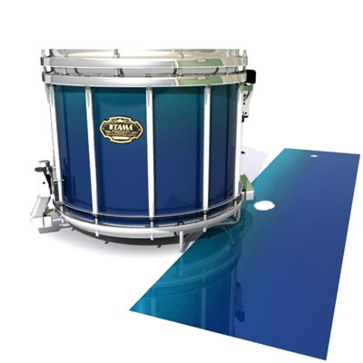 Tama Marching Snare Drum Slip - Pacific Fade (Blue) (Aqua)