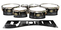 Tama Marching Tenor Drum Slips - Ashy Grey Rosewood (Neutral)