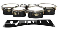 Tama Marching Tenor Drum Slips - Black Stain (Neutral)