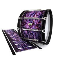 Yamaha 8200 Field Corps Bass Drum Slip - Alien Purple Grain (Purple)