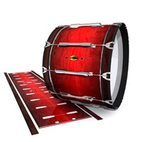 Yamaha 8300 Field Corps Bass Drum Slip - Active Red (Red)