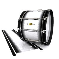Yamaha 8300 Field Corps Bass Drum Slip - Black Magic Fade (Neutral)