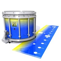 Yamaha 9200 Field Corps Snare Drum Slip - Afternoon Fade (Blue)