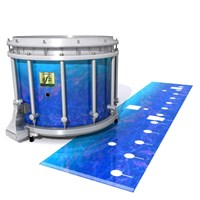 Yamaha 9200 Field Corps Snare Drum Slip - Aquatic Blue Fade (Blue)