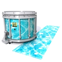Yamaha 9200 Field Corps Snare Drum Slip - Aquatic Refraction (Themed)