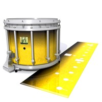 Yamaha 9200 Field Corps Snare Drum Slip - Aureolin Fade (Yellow)