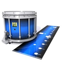 Yamaha 9200 Field Corps Snare Drum Slip - Azure Stain Fade (Blue)