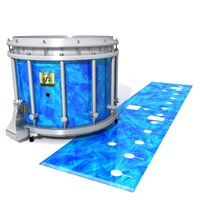 Yamaha 9200 Field Corps Snare Drum Slip - Blue Cosmic Glass (Blue)