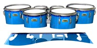 Yamaha 8200 Field Corps Tenor Drum Slips - Bermuda Blue (Blue)