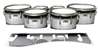 Yamaha 8200 Field Corps Tenor Drum Slips - Black Magic Fade (Neutral)