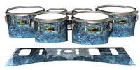 Yamaha 8300 Field Corps Tenor Drum Slips - Aeriform (Blue)