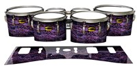 Yamaha 8300 Field Corps Tenor Drum Slips - Alien Purple Grain (Purple)