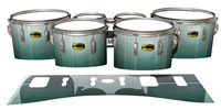 Yamaha 8300 Field Corps Tenor Drum Slips - Alpine Fade (Green)