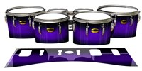 Yamaha 8300 Field Corps Tenor Drum Slips - Amethyst Haze (Purple)