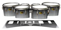 Yamaha 8300 Field Corps Tenor Drum Slips - Arctic Night Fade (Neutral)