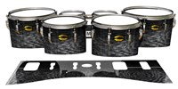 Yamaha 8300 Field Corps Tenor Drum Slips - Ashy Grey Rosewood (Neutral)