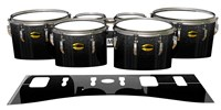 Yamaha 8300 Field Corps Tenor Drum Slips - Asphalt (Neutral)