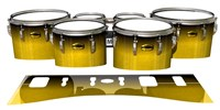 Yamaha 8300 Field Corps Tenor Drum Slips - Aureolin Fade (Yellow)