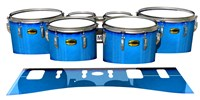 Yamaha 8300 Field Corps Tenor Drum Slips - Bermuda Blue (Blue)
