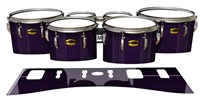 Yamaha 8300 Field Corps Tenor Drum Slips - Black Cherry (Purple)