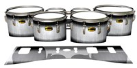 Yamaha 8300 Field Corps Tenor Drum Slips - Black Magic Fade (Neutral)