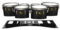 Yamaha 8300 Field Corps Tenor Drum Slips - Black Stain (Neutral)