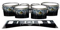 Yamaha 8300 Field Corps Tenor Drum Slips - Blue Ridge Graphite (Neutral)