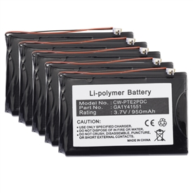5 Pack Battery Palm Tungsten E2 PDA GA1Y41551