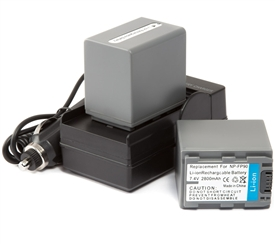 Sony NP-FP90 Battery & Charger Combo