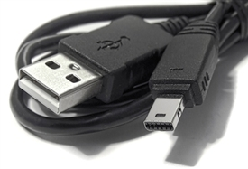 2 Pack 12 Pin USB Cable Casio Exilim EX-H15 EX-F1