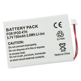 Apple iPod 4th Generation Battery