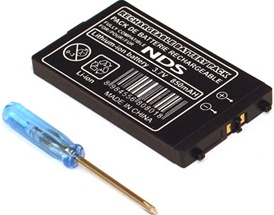 Nintendo DS NDS NTR-001 NTR001 NTR-003 Battery