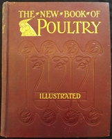Lewis Wright 1905 The New Book of Poultry Cassell & Company - Sold