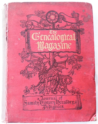 The Genealogical Magazine, Vol 1, May 1897-Apr 1898