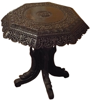 Anglo-Indian Padouk Wood Centre Table